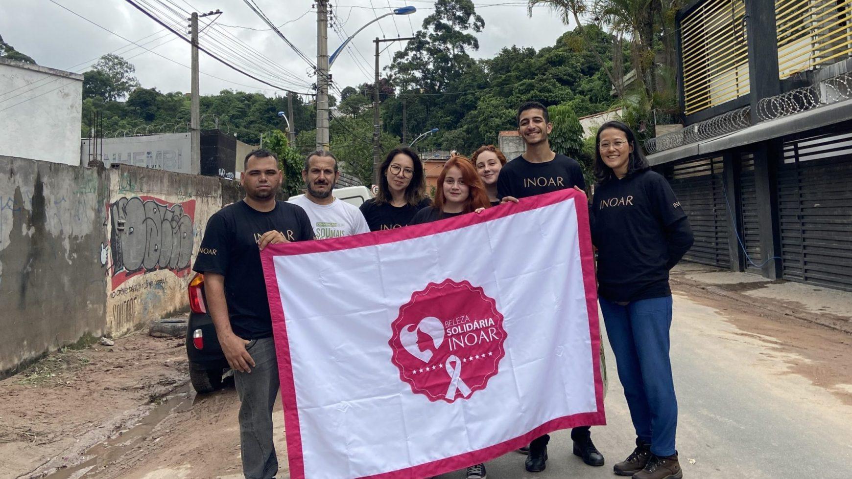 Beleza Solidária realiza ação para prestar auxílio a moradores de Taboão da Serra