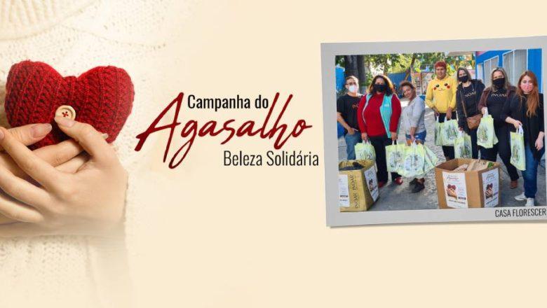 Comunidade LGBTQIA+ da Casa Florescer recebe doação de agasalhos e produtos de beleza e higiene pessoal por meio do Projeto Beleza Solidária