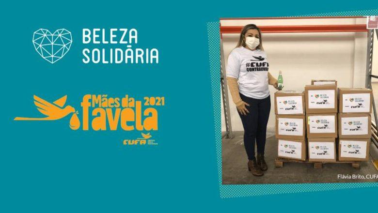 INOAR realiza doação de produtos de higiene e beleza  para famílias da CUFA